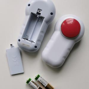 Vibrationsgerät mit Batterie
